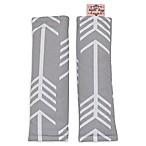 Bambella Designs Arrows Harness Cover in Grey