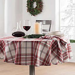 UGG® Bristol Plaid 70-Inch Round Tablecloth