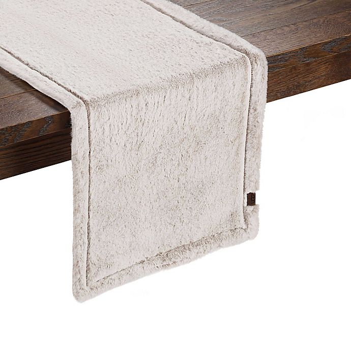 Alternate image 1 for UGG® Polar 54-Inch Table Runner in Grey