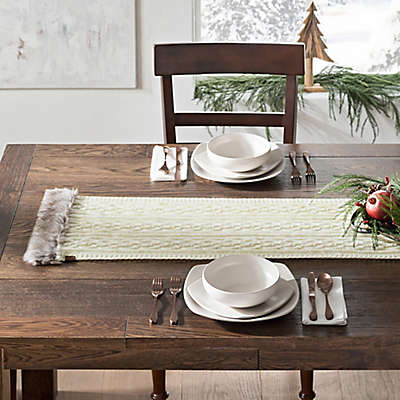 UGG® Cable Knit Table Runner