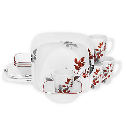 Corelle® Kyoto Leaves 16-Piece Dinnerware Set