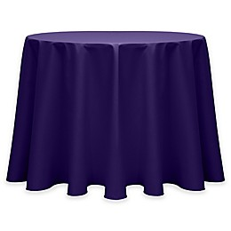 Round Twill Tablecloth