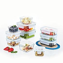 Glasslock Food Storage Set in Aqua