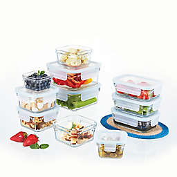 Glasslock Food Storage Set in Aqua