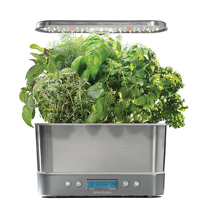 Alternate image 1 for AeroGarden™ Harvest Elite with Gourmet Herb Seed Pod Kit