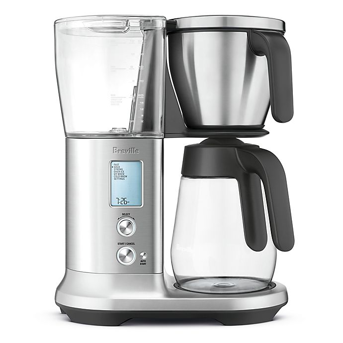 Alternate image 1 for Breville® 12-Cup Stainless Steel Precision Brewer Glass Coffee Maker