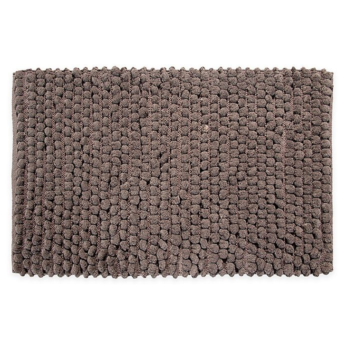 Alternate image 1 for Bubbles Microfiber Bath Mat