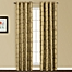 Part of the United Curtain Co. Sinclair Embroidered Grommet Top Window Curtain Panel