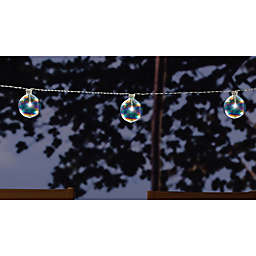 Solar-Powered 10-Light String Lights in Cool White