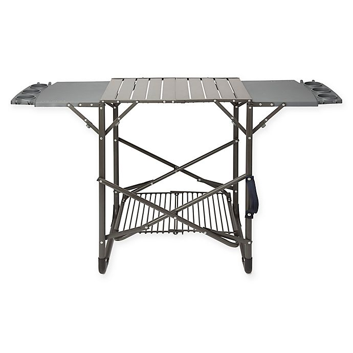 Alternate image 1 for Cuisinart® Take Along Grill Stand in Grey