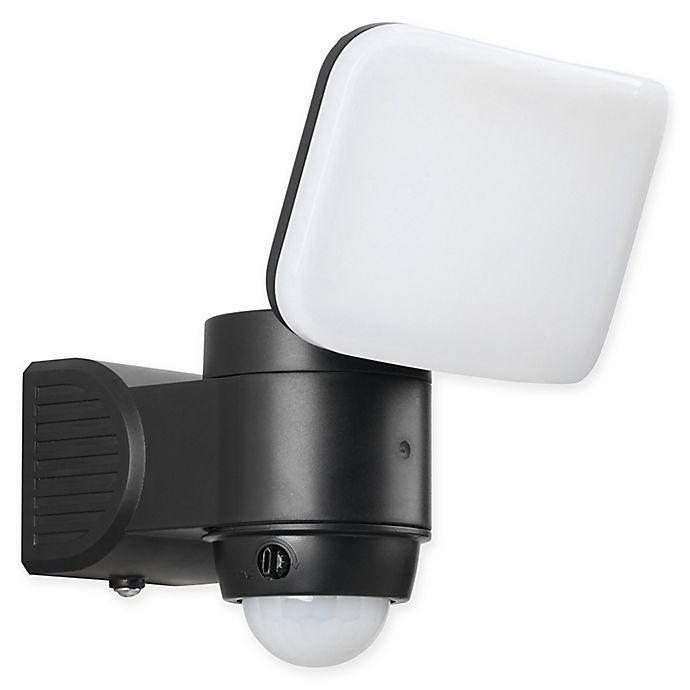 Alternate image 1 for Link2Home 220 Lumen LED Battery Power Single-Head Sensor Floodlight w/ Photocell Technology