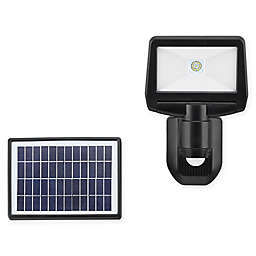 Link2Home 900 Lumen LED Solar Single-Head Sensor Flood Light with Photocell Technology