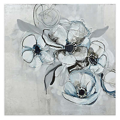 Renwil 70% Hand Painted Floral Wall Art