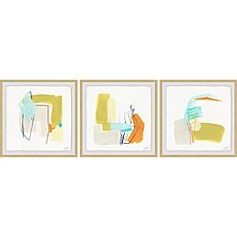 Marmont Hill Adagio III Framed Triptych Wall Art