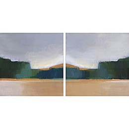 Marmont Hill Great Barrier Canvas Diptych Wall Art