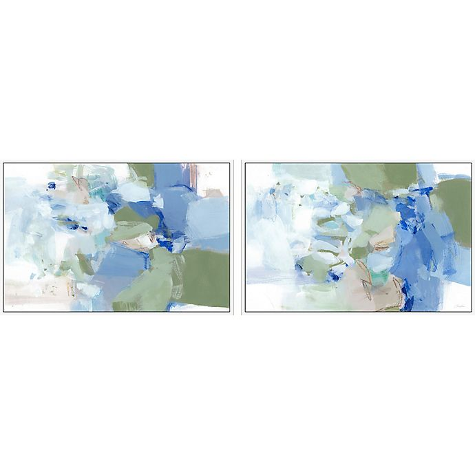 Alternate image 1 for Marmont Hill After Hours 36-Inch x 12-Inch Framed Diptych Wall Art (Set of 2)