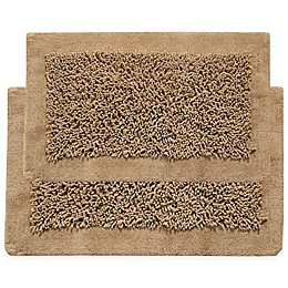 Chenille Long Noodle 2-Piece Bath Mat Set