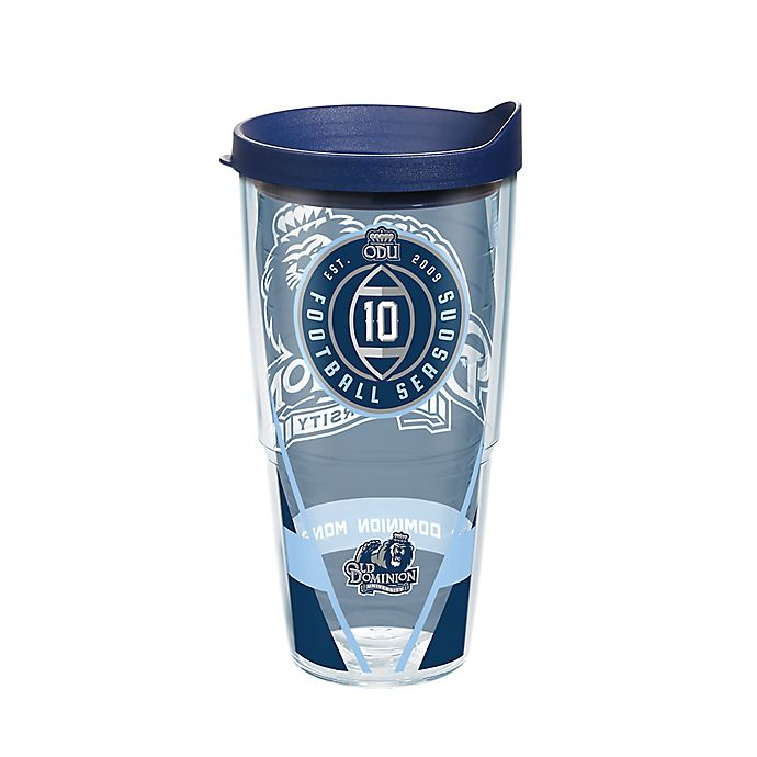 Alternate image 1 for Tervis® Old Dominion University Football 10 Seasons 24 oz. Wrap Tumbler with Lid