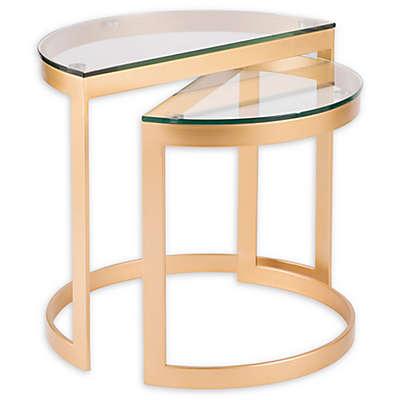 LumiSource™ Demi 2-Piece Nesting Tables Set