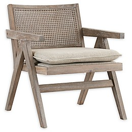 INK+IVY  Upholstered Ventura Chair in Grey