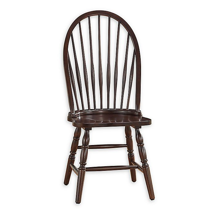 Alternate image 1 for Carolina Cottage Wood Windsor Dining Chair in Espresso