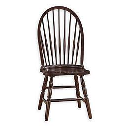Carolina Cottage Wood Windsor Dining Chair in Espresso