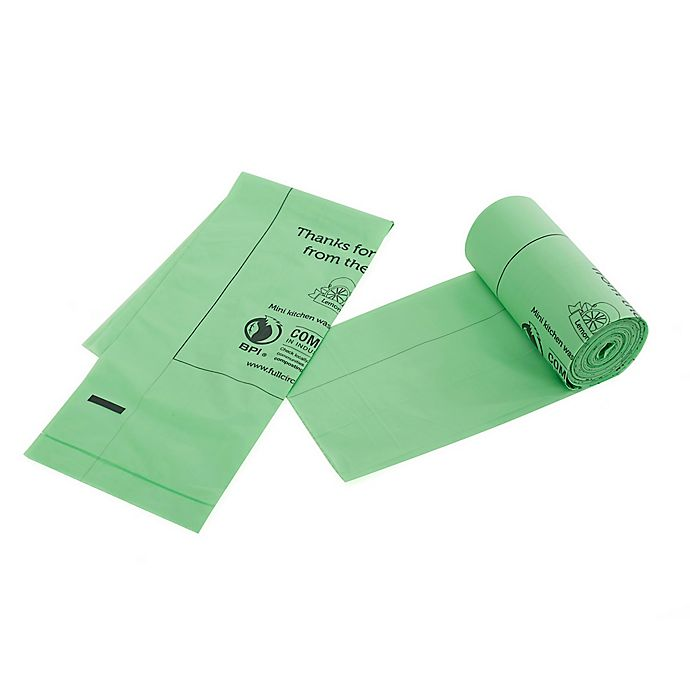 Alternate image 1 for Full Circle 25-Pack Fresh Air Compostable Waste Bags with Lemon Scent