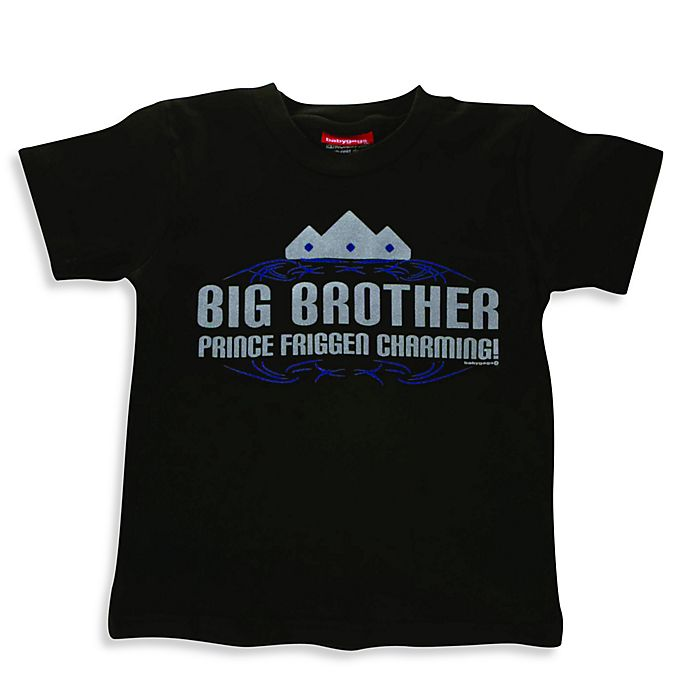 Alternate image 1 for Silly Souls® Big Brother T-Shirt in Black