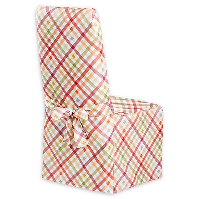 Strange Autumn Gingham Dining Chair Cover Bed Bath Beyond Andrewgaddart Wooden Chair Designs For Living Room Andrewgaddartcom