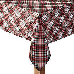 Holiday Tartan Plaid Tablecloth