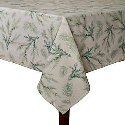 Whispering Pines 60-Inch x 120-Inch Umbrella Tablecloth