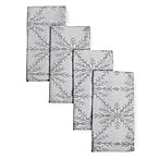 Winter Woven Napkins in Grey (Set of 4)
