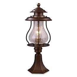 ELK Lighting Wikshire Post-Mount Outdoor Light in Coffee Bronze
