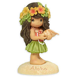 "Precious Moments® ""Aloha"" Hawaiian Girl Figurine"