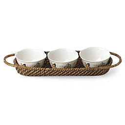 Lenox® Butterfly Meadow® 4-Piece Hors d'oeuvres Set