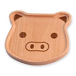 Boston International Pig Face Child's Dinner Plate