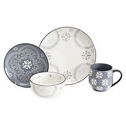 Baum Phara 16-Piece Dinnerware Set in Grey
