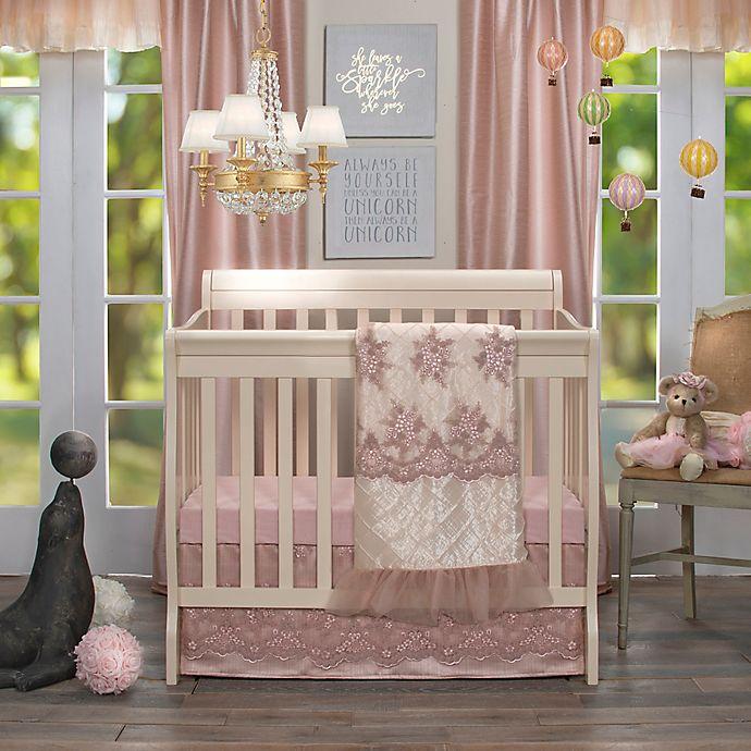 Alternate image 1 for Glenna Jean Remember My Love Mini Crib Bedding Collection