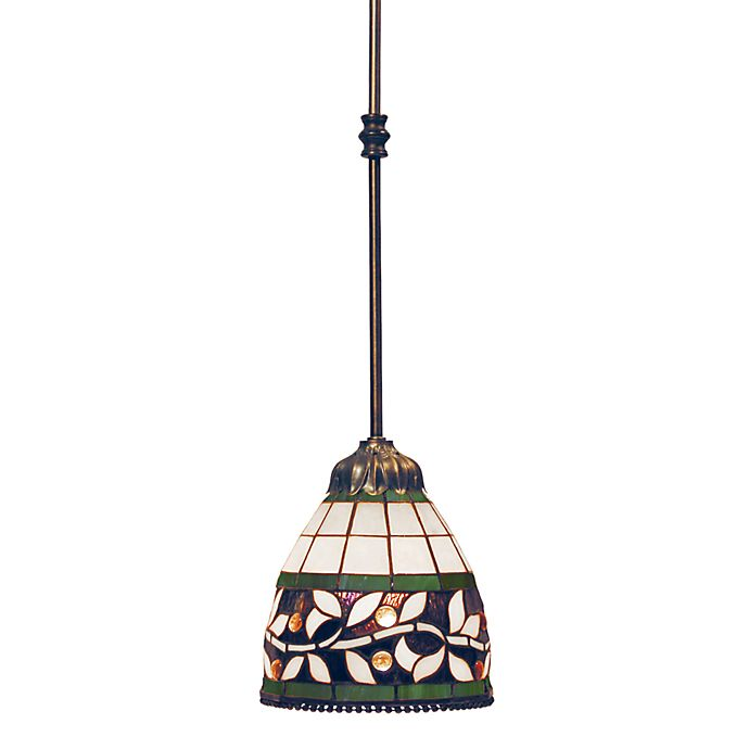 Elk Lighting Online: ELK Lighting Pendant Light In Tiffany Bronze