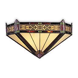 ELK Lighting Filigree 2-Light Sconce in Aged Bronze