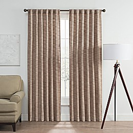 Vella Rod Pocket/Back Tab Room Darkening Window Curtain Panel