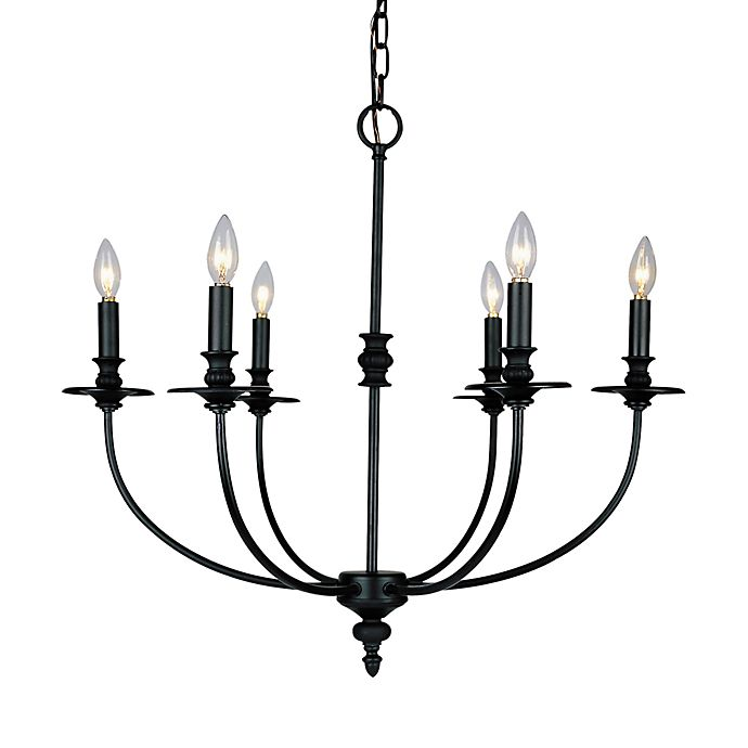 Alternate image 1 for ELK Lighting Hartford Candle Chandelier Finished in Oil-Rubbed Bronze