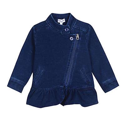 Splendid Kids Ruffle Denim Jacket in Indigo