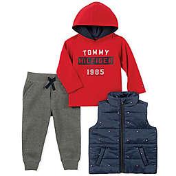 Tommy Hilfiger® 3-Piece Flag Print Vest and Pants Set