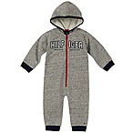 Tommy Hilfiger® Size 3-6M Hooded Coverall in Grey