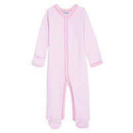Splendid Kids Striped Footed Coverall in Pink