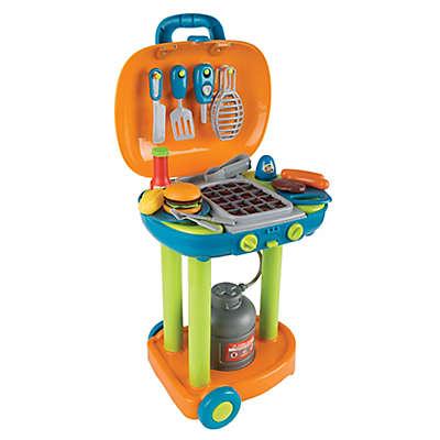 Hey! Play! 23-Piece Pretend Grill Toy Set
