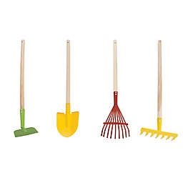 Hey! Play! 4-Piece Garden Tool Set