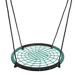 Hey! Play! Large Spider Web Tree Swing