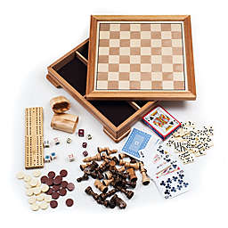 Hey! Play! Deluxe 7-in-1 Chess and Backgammon Game Set